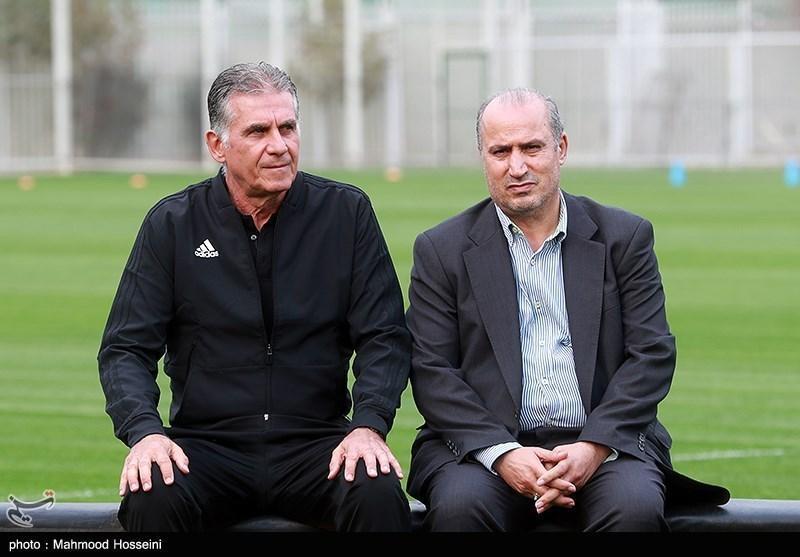 معادله مجهول تمدید قرارداد کارلوس کی روش با فدراسیون فوتبال، چرا تصویر قرارداد منتشر نمی گردد؛ چرا کی روش بدون قرارداد کار می نماید؟