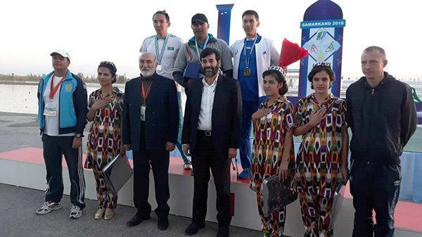 شش مدال دیگر برای قایقران های ایران در آسیا