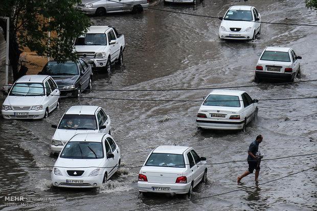 بارش 20 میلی متر باران در دزفول، کاهش محسوس دما