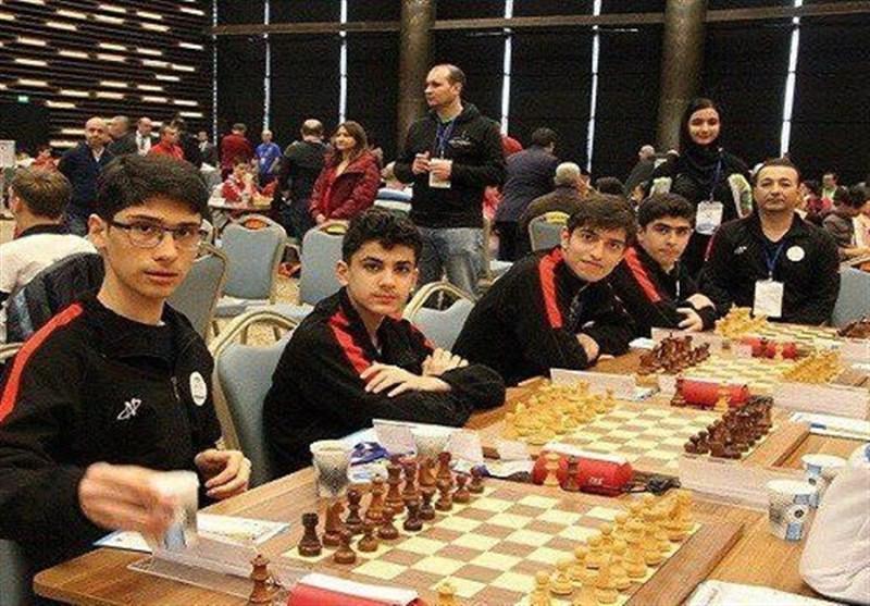 المپیاد جهانی شطرنج زیر 16 سال، برتری قاطع ایران مقابل آمریکا