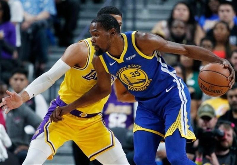 لیگ NBA، پیروزی وریرز در آتلانتا، وولوز، تنها میزبان پیروز