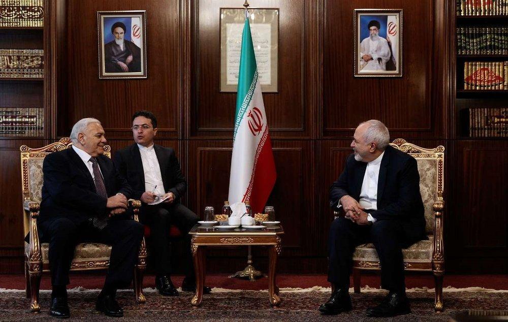 تصاویر ، دیدار رئیس مجلس آذربایجان با ظریف