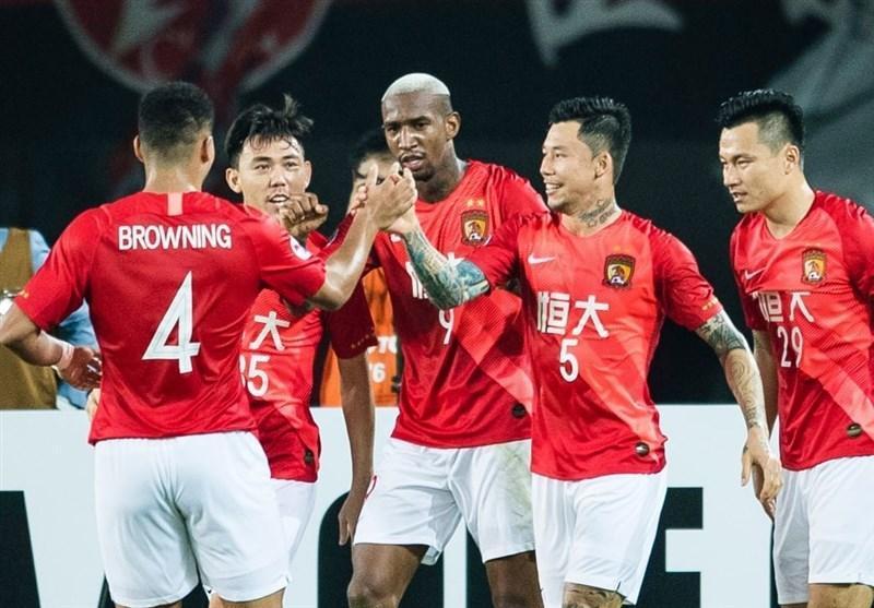 لیگ قهرمانان آسیا، رجحان پرگل گوانگژوی چین مقابل نماینده استرالیا