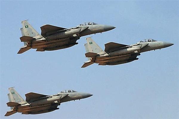 حملات گسترده جنگنده های سعودی به پایتخت یمن