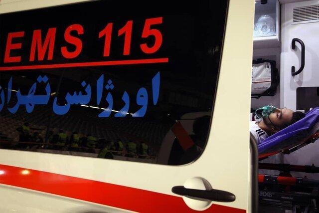 98 مورد مراجعه به اورژانس در مسابقه فوتبال در استادیوم آزادی