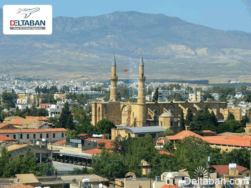 نیکوزیا، پایتخت و بزرگترین شهر قبرس