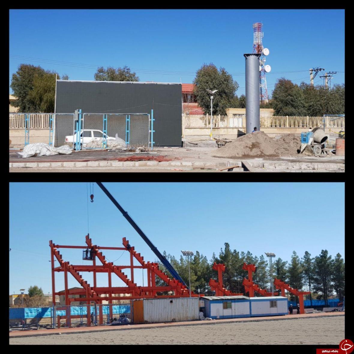 روند توسعه و بازسازی ورزشگاه گل گهر زیر ذره بین
