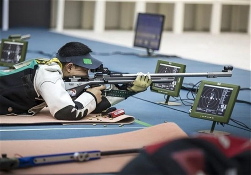 تیراندازی قهرمانی آسیا، تیم تفنگ درازکش مردان هشتم شد