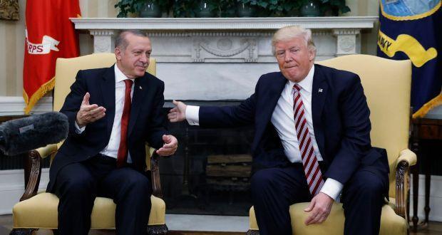 ترامپ: ترکیه شریک راهبردی ماست، اردوغان: منطقه امن شمال سوریه باید تحت کنترل ما باشد