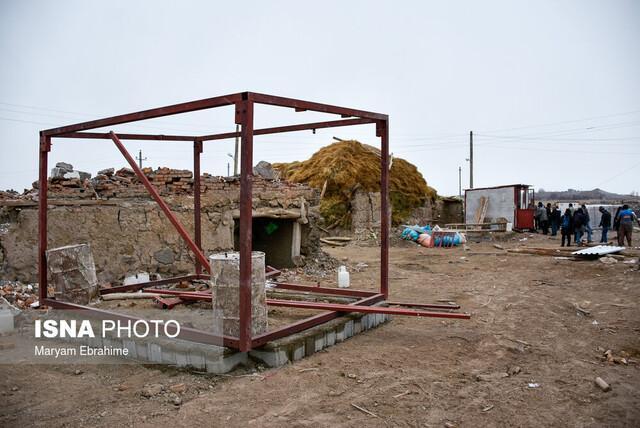 آخرین شرایط بازسازی خانه های زلزله زدگان در آذربایجان شرقی