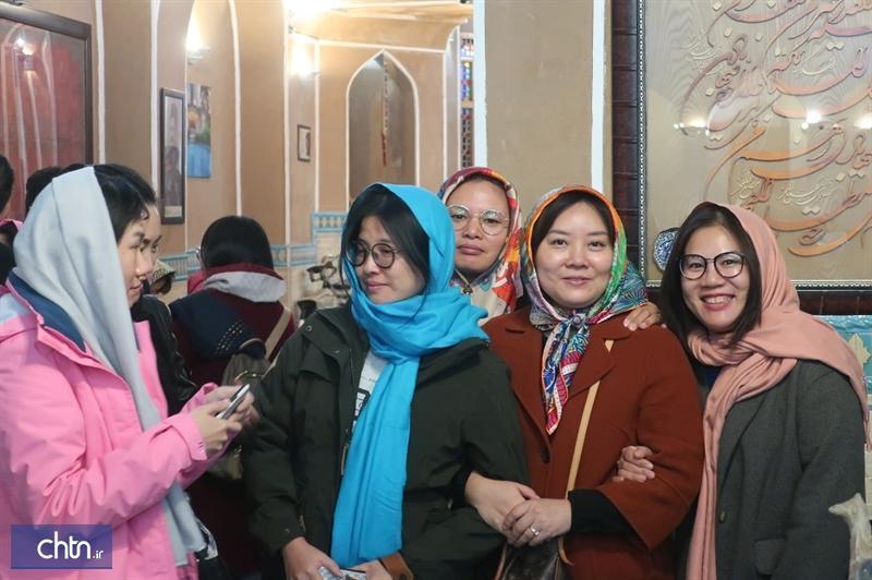 سال نوی چینی ها در یزد جشن گرفته شد