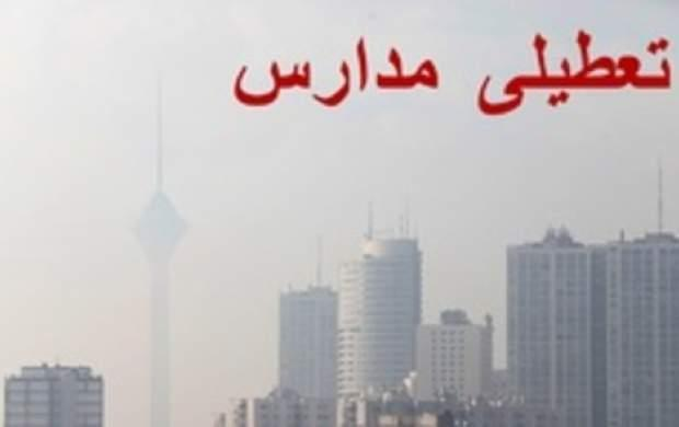 احتمال تعطیلی مدارس تهران از روز دوشنبه