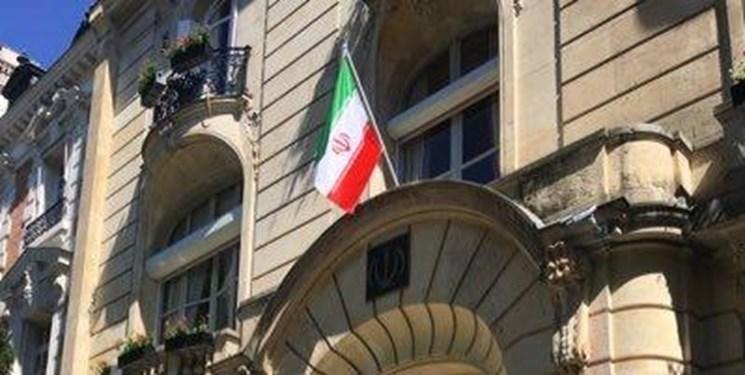 آمادگی سفارت ایران در پاریس برای ارائه مشاوره و مساعدت به ایرانی ها در پی شیوع کرونا