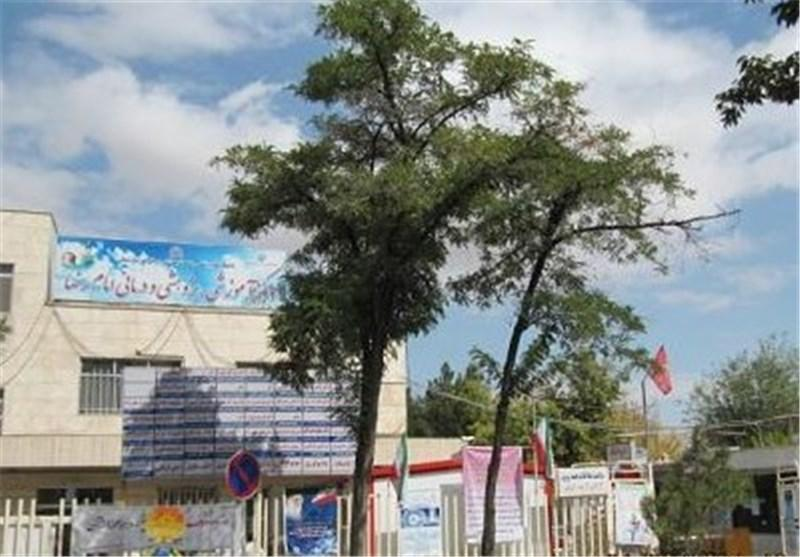 اتمام عملیات مرمت نمای ساختمان بیمارستان امام رضا(ع)