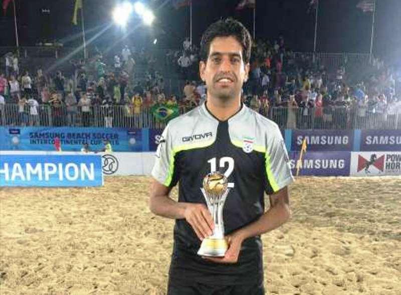 بهزادپور: بهترین اتفاق سال 98 قهرمانی تیم ملی فوتبال ساحلی در جام بین قاره ای بود