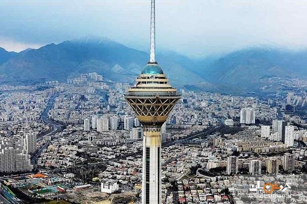 گردشگری مجازی در تهران؛ ششمین برج بلند مخابراتی دنیا
