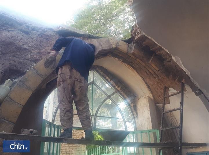 شروع بازسازی مسجد جوادالائمه خلیل آباد