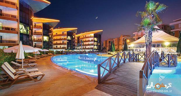 هتل اونکل رزیدنس Onkel Residence از بهترین هتل های آنتالیا، اقامتگاهی محاصره شده با ساحل و جنگل