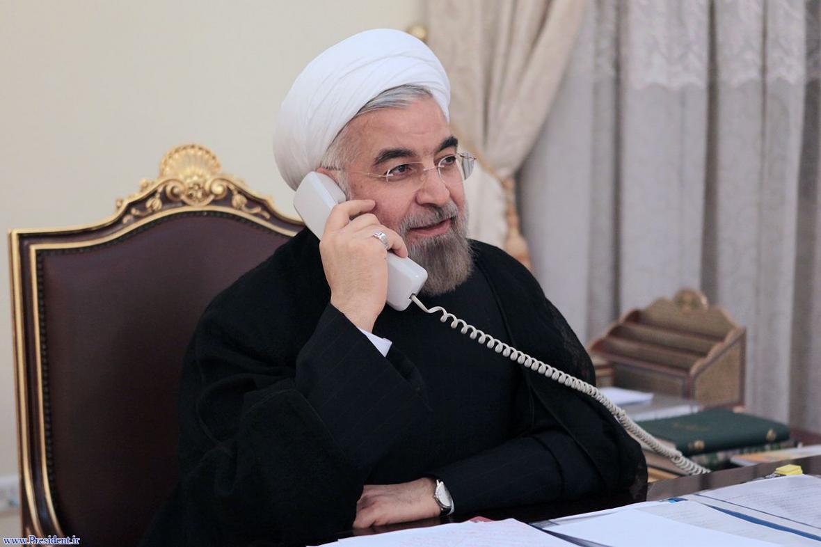 تماس تلفنی روحانی با رئیس جمهور سوئیس