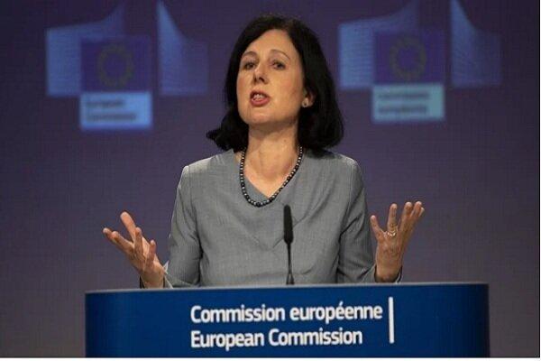 کمیسیون اروپا از اقدام توئیتر در برابر ترامپ حمایت کرد