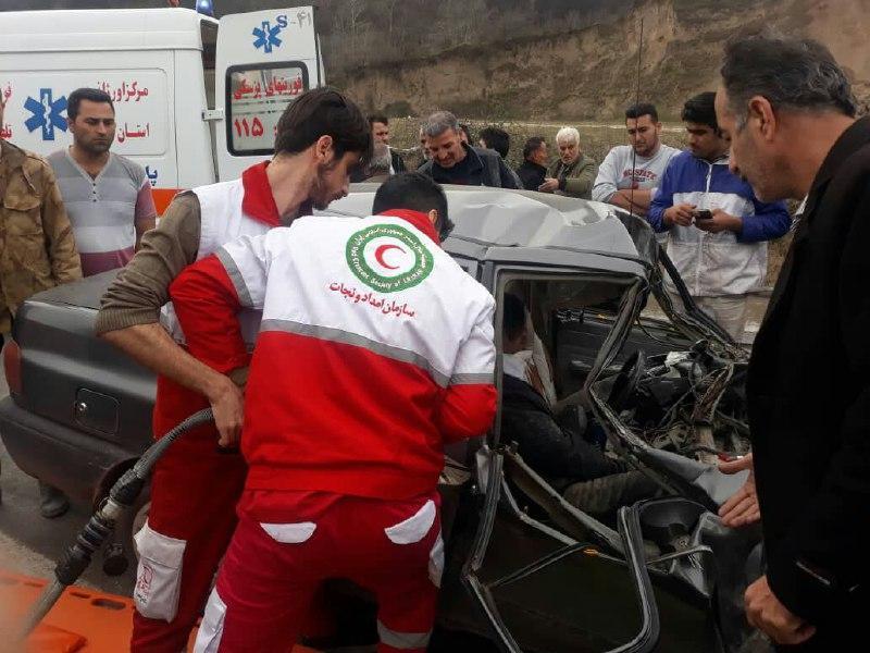 امدادرسانی به 705 نفر از حادثه دیدگان