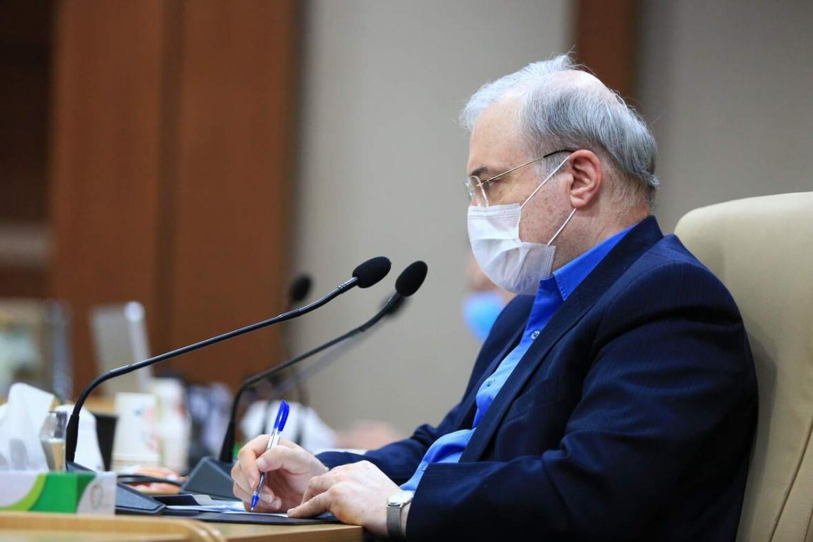 خبرنگاران تاکید وزیر بهداشت به نظارت بر اجرای دستورالعمل های مقابله با کرونا