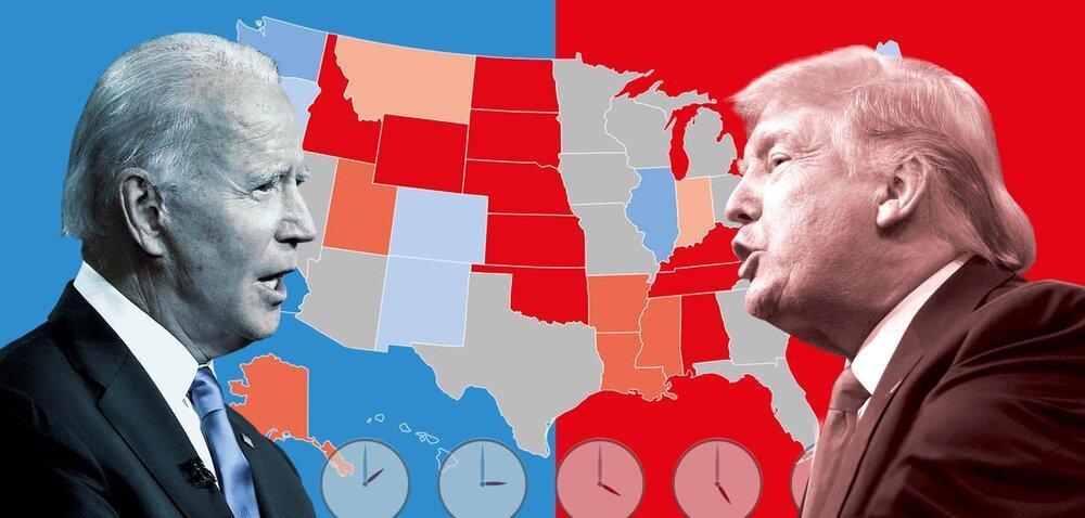 فاسدترین انتخابات تاریخ آمریکا؛از سلاح کرونا بهره ببرید!