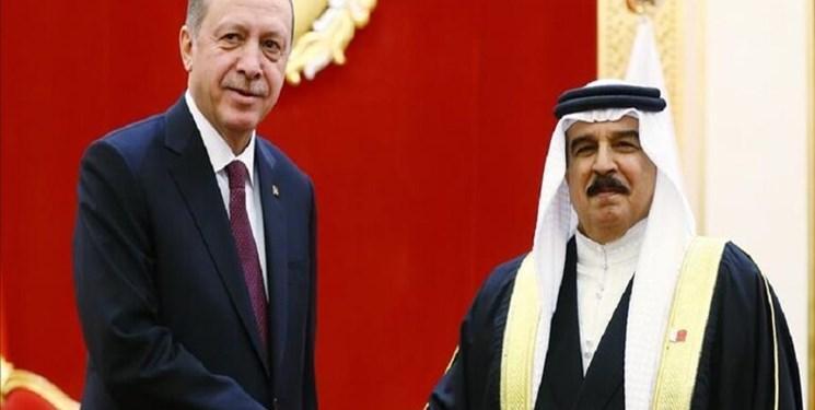 گفت وگوی اردوغان با پادشاه بحرین