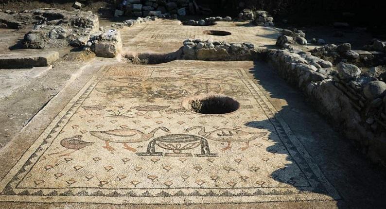 کشف یک کلیسا قرن ششمی در باغ کارگر ترکی
