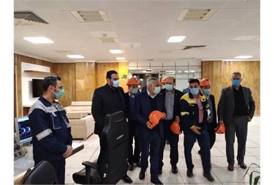 بازدید معاون وزیر کار از سایت های پنجگانه مستقر در منطقه ویژه اقتصادی پتروشیمی خوزستان