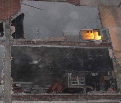 انفجار یک واحد مسکونی در کلاک کرج