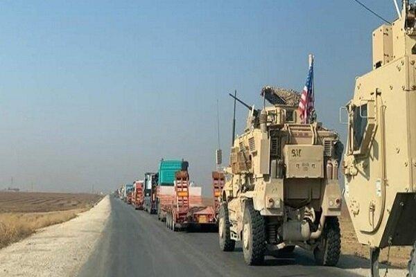 انفجار بمب در جهت 2 کاروان نظامی آمریکا در عراق