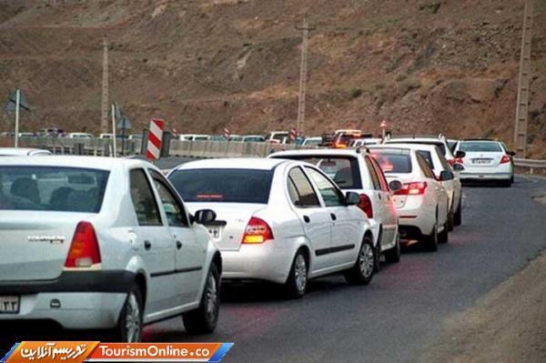 ترافیک سنگین در 3 محور تهران-شمال