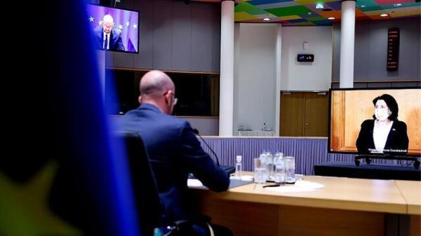 اتحادیه اروپا با رهبران تفلیس توافق نامه امضا کرد