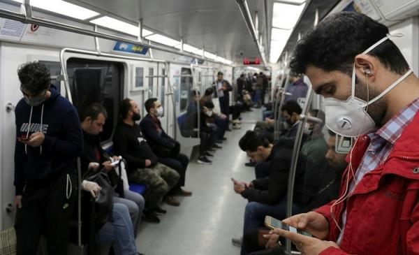 برای پیشگیری از کرونا در مترو نخندید