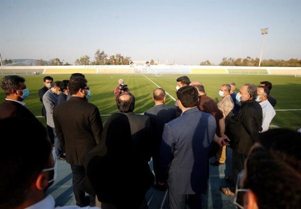 بازدید مدیرعامل سازمان منطقه آزاد کیش از محل اردوی تیم ملی