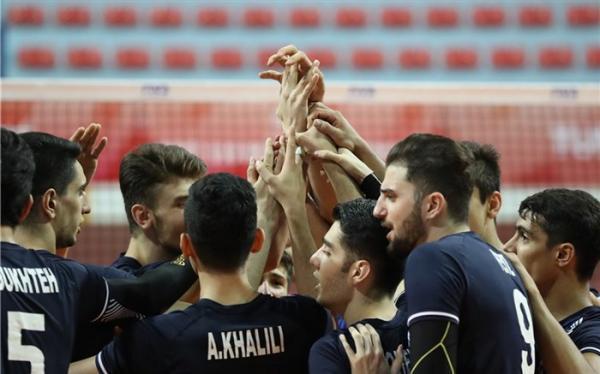اردونشینان تیم ملی والیبال جوانان معرفی شدند