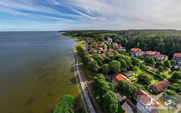 نوار کورونی؛طبیعتی بی نظیر در مرز روسیه و لیتوانی، عکس