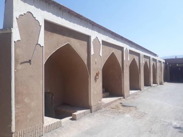 بازسازی حمام خان ماهان شروع شد